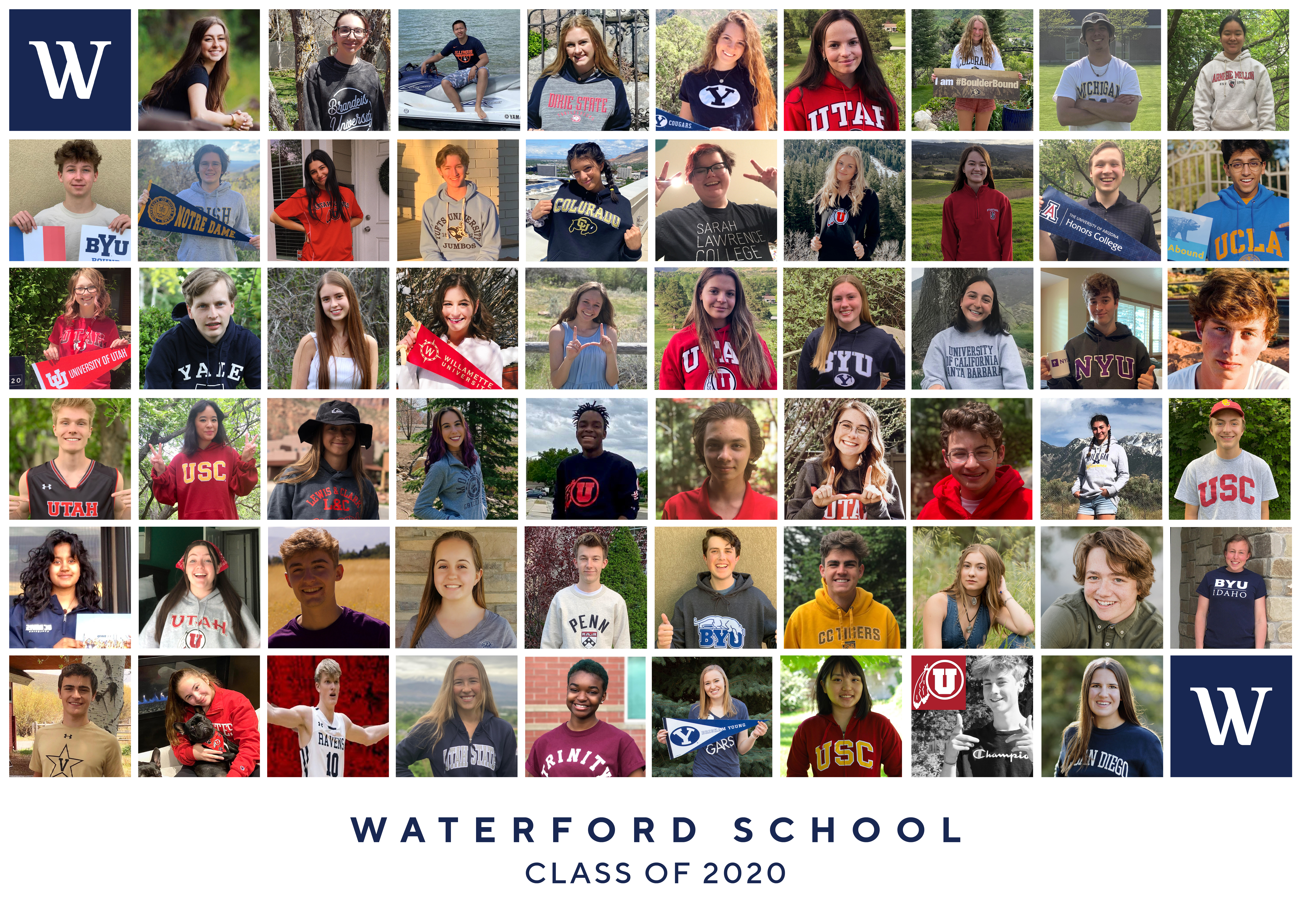 Waterford College Class of 2020