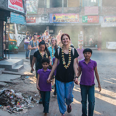 Waterford community service in India