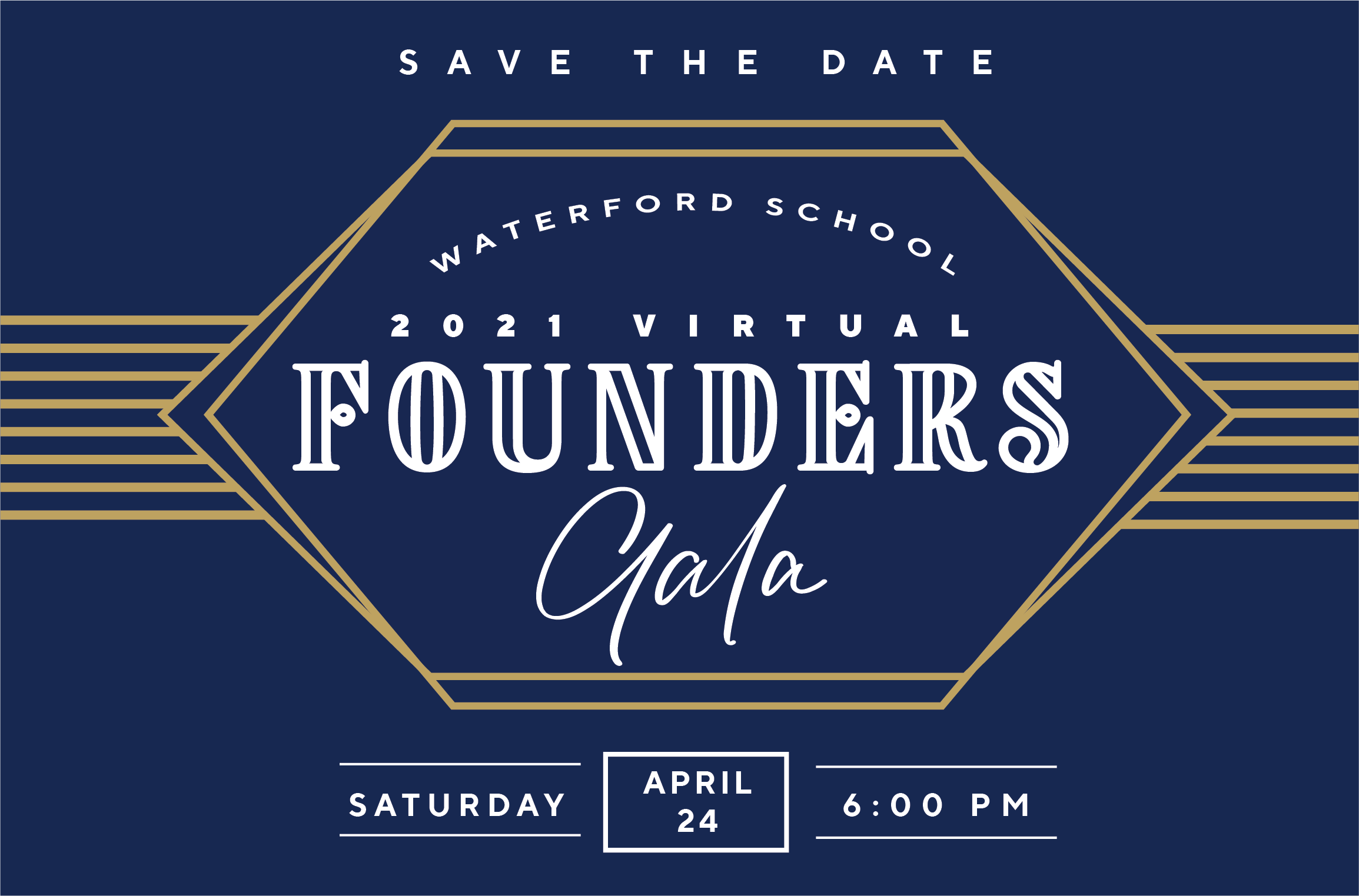 Founder's Gala - Save the Date
