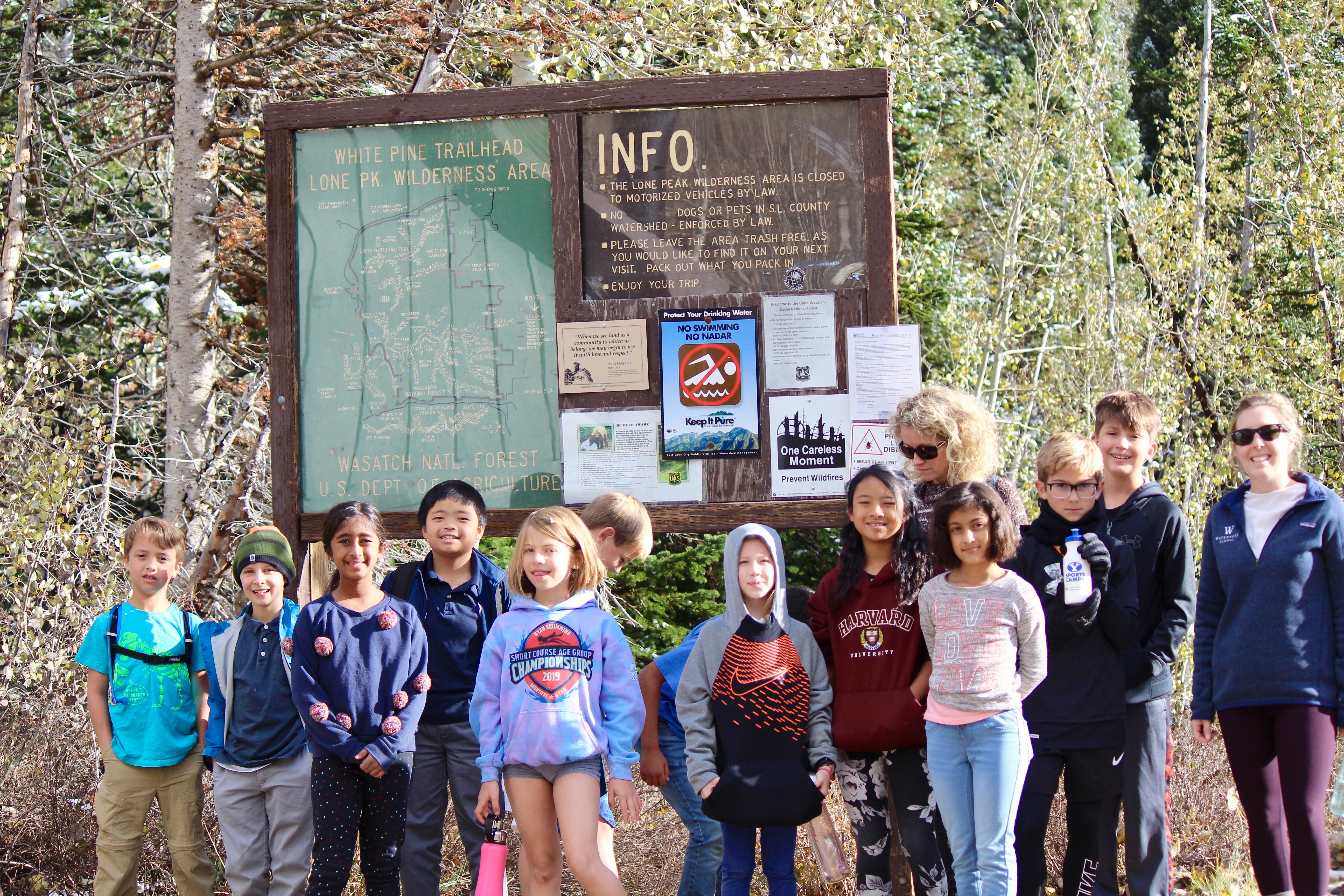Lower School Hike