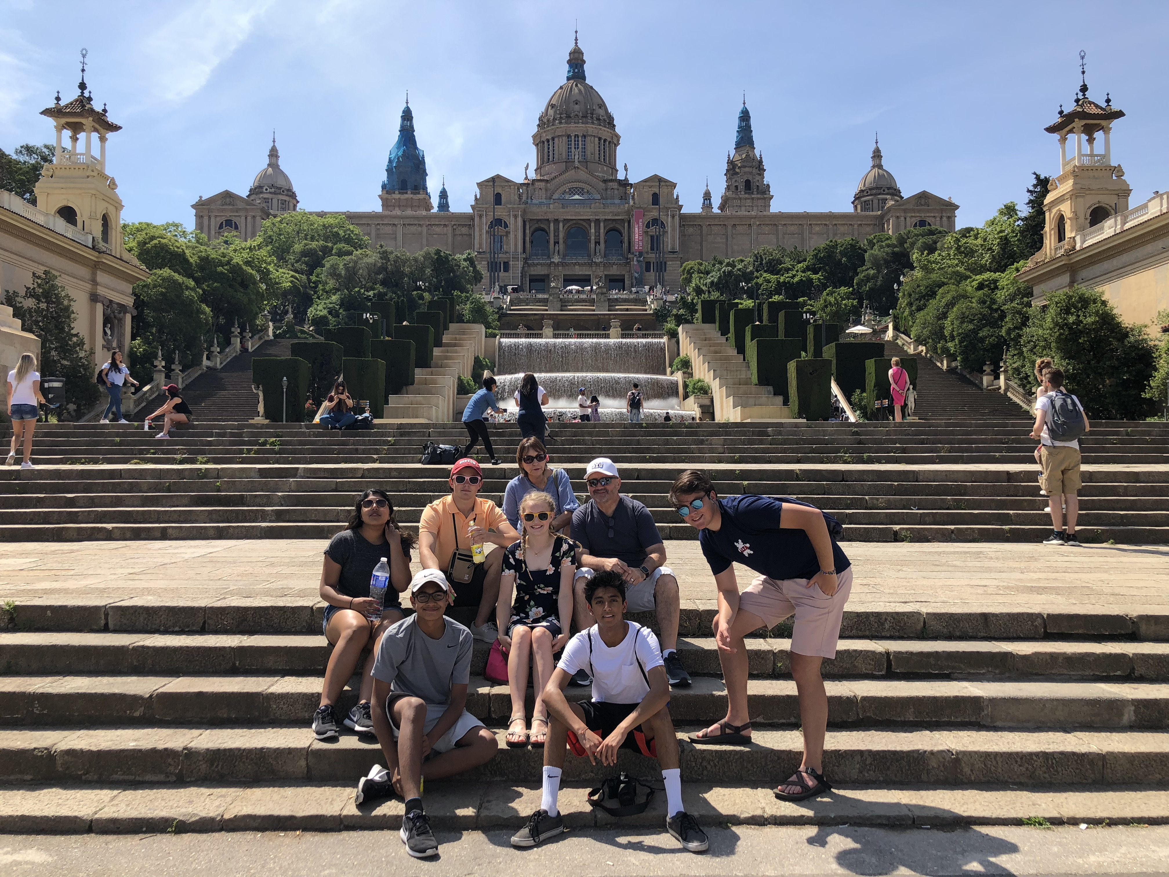 Waterford Students in Barcelona