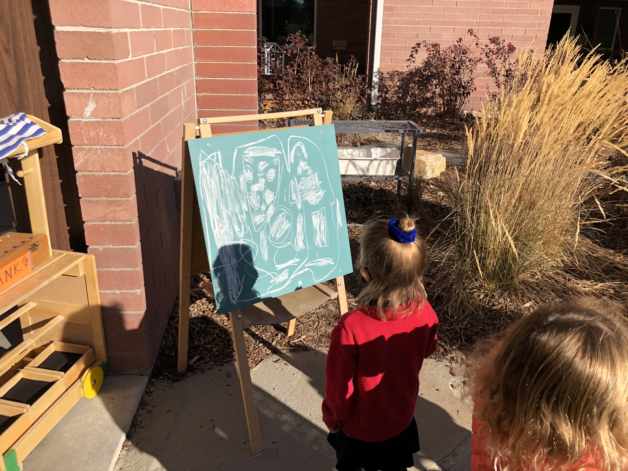 Painting in the Outdoor Classroom