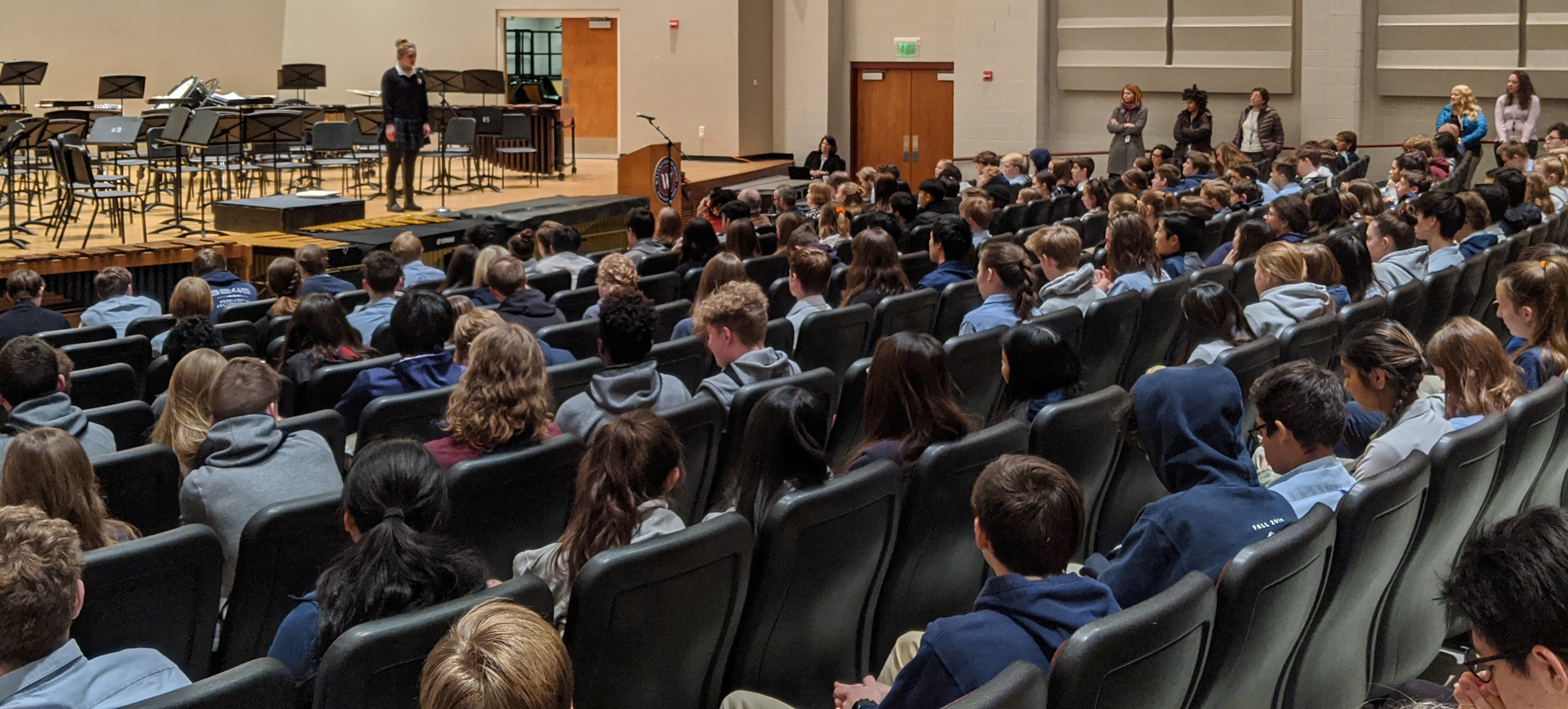 Poetry Out Loud Assembly