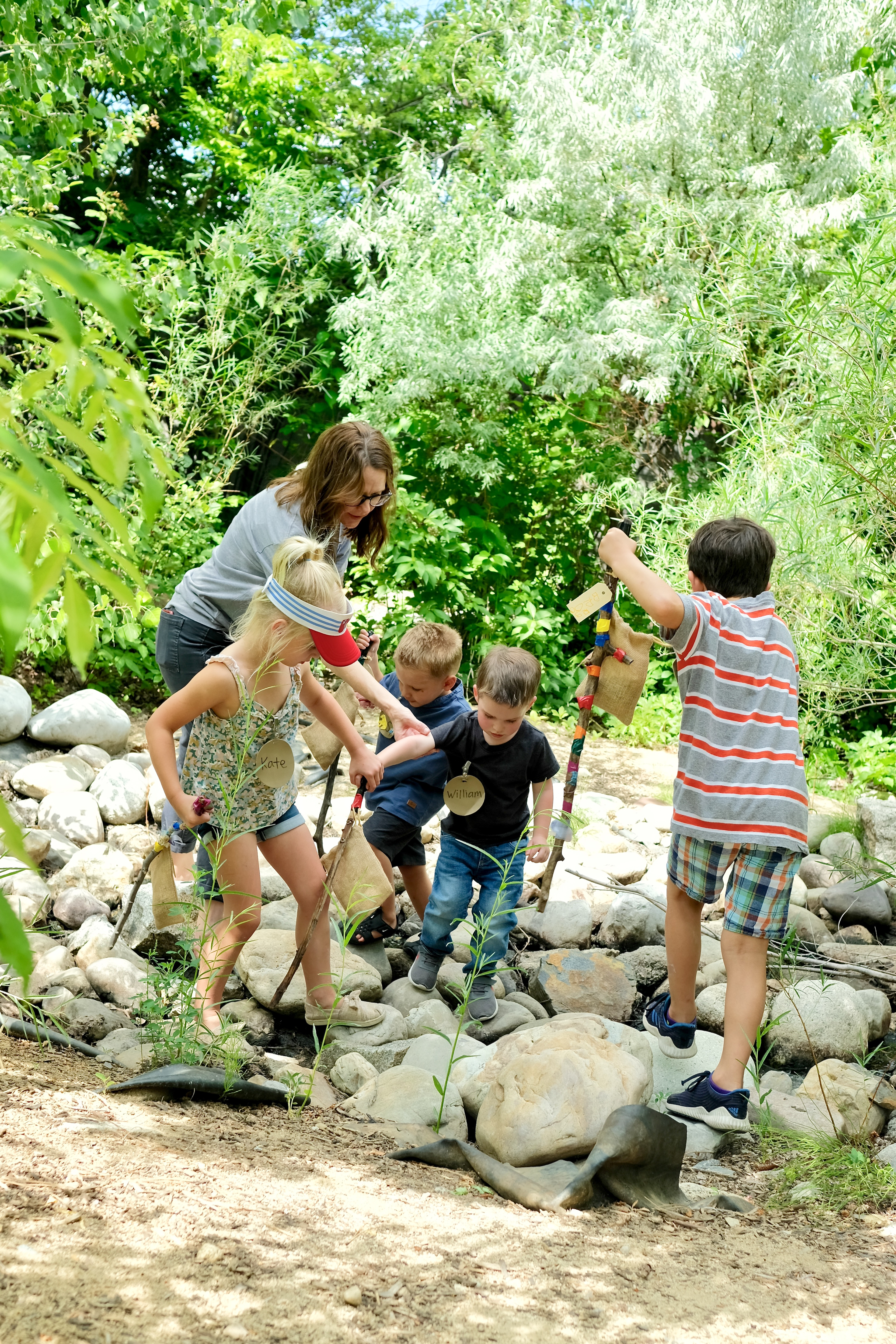 Nature Explorations during Summer