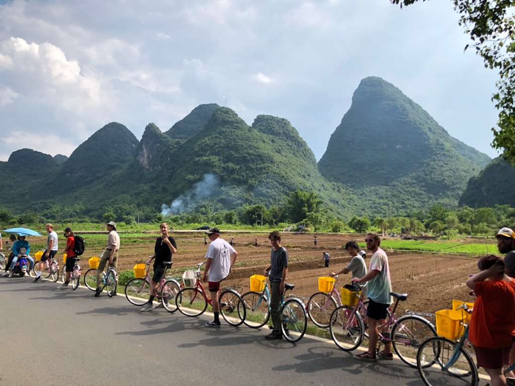 Waterford Students in Yangshuo, China