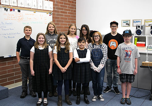 13 Waterford students were accepted into the OAKE national choirs.
