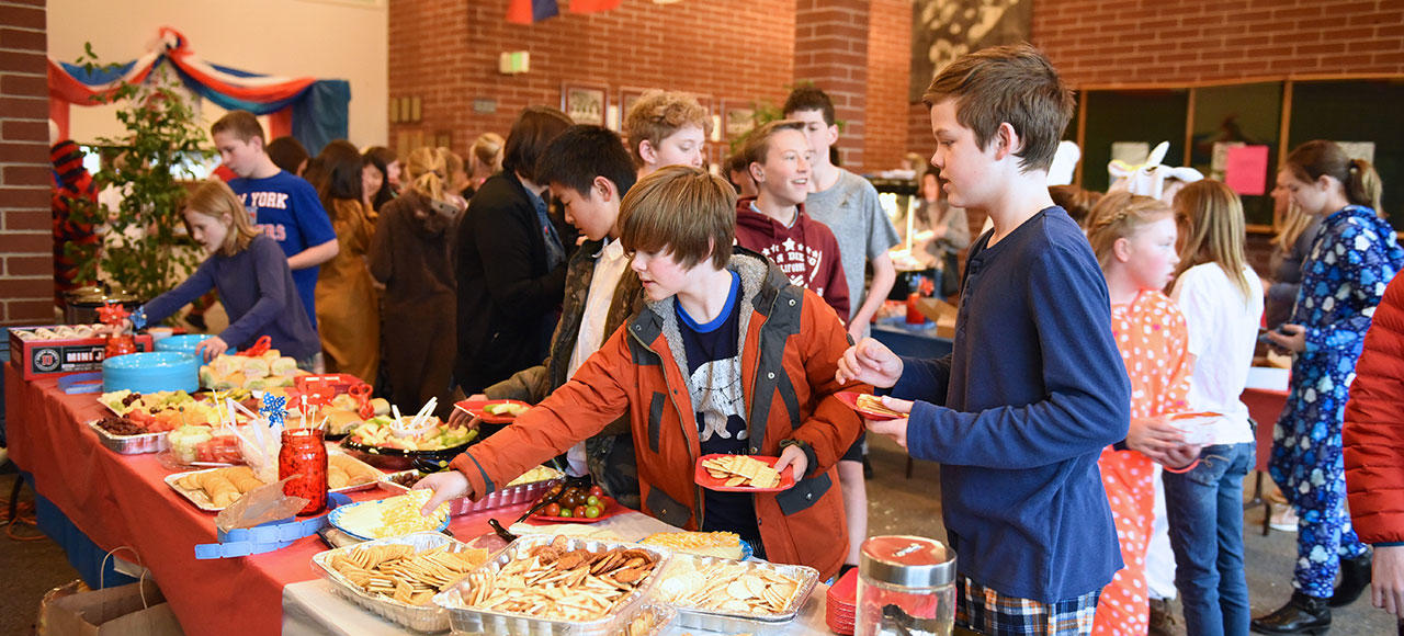 Waterford School traditions build community spirit