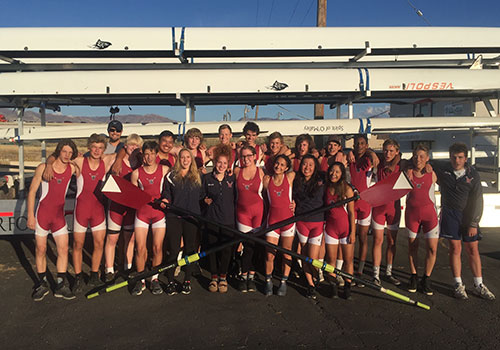Waterford's Crew team had a strong fall season, competing in Oklahoma and California.